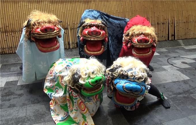 京・獅子舞プロジェクト 獅子舞