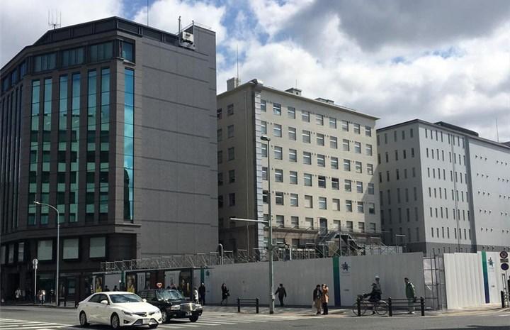 京都経済センター 再開発中